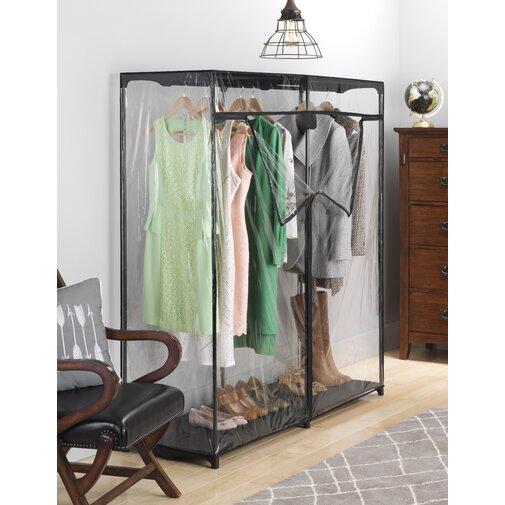 60 in. W Crystal Clear Wardrobe