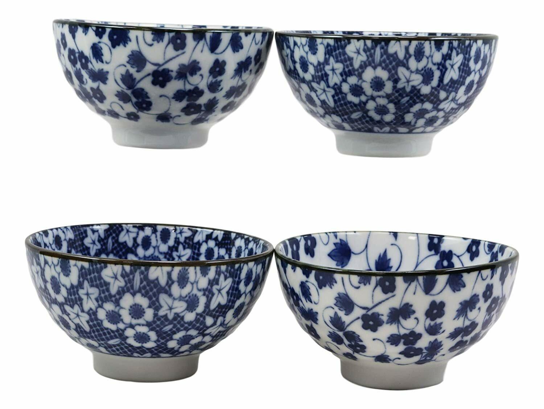 World Menagerie Beninga 4 Piece Floral Design Soup Bowl Set Reviews