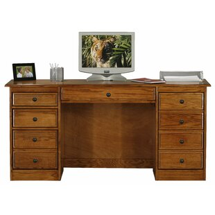 Lapierre Double Pedestal Executive Desk by Loon Peak Reviews