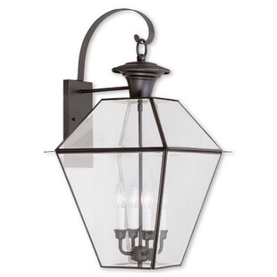 Compare Orchard Lane 4-Light Outdoor Wall Lantern By Three Posts