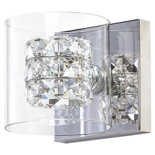 Read Reviews Rasnick 1-Light Sconce By Mercer41