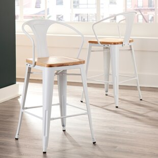 Grasser Solid Wood 263 Counter Stool Set of 4