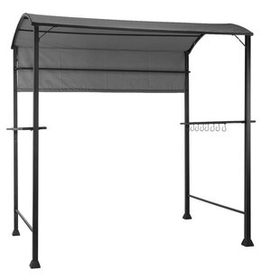 Steakhouse 2.2m X 1.4m Metal BBQ Gazebo By Blumfeldt