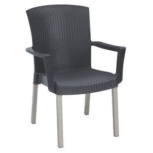 Elgin Stacking Patio Dining Chair (Set of 4)