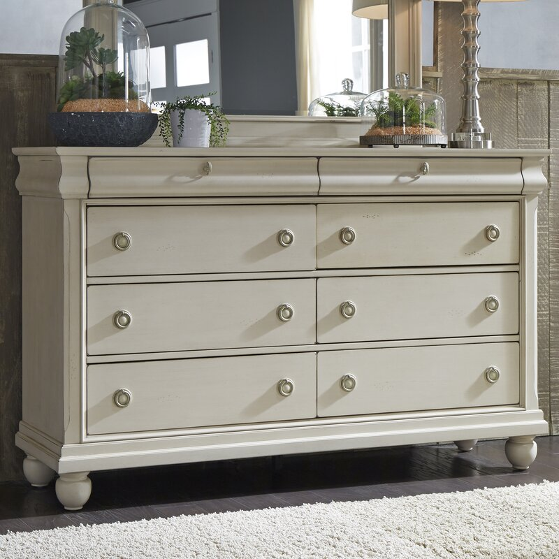Warlick 8 Drawer Double Dresser