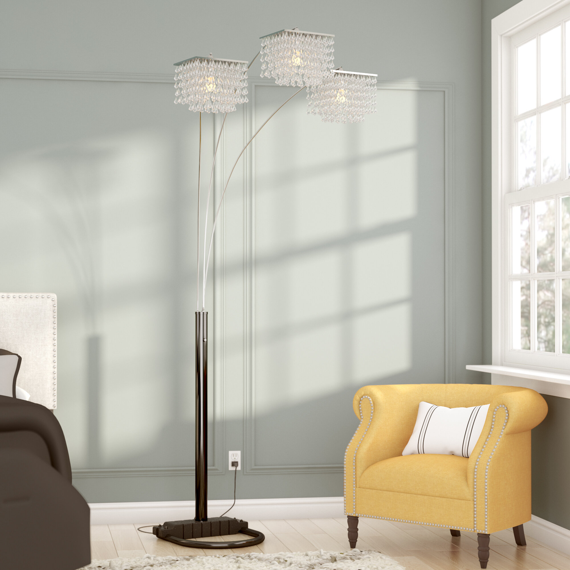 table lamp contemporary hardood floor ideas in standing lamps floors furniture tree with design unique