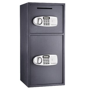 Suredrop Digital Deluxe Double Electronic Lock Depository Safe by