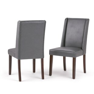 Sother by Deluxe Upholstered Dining Chair (Set of 2) by Simpli Home