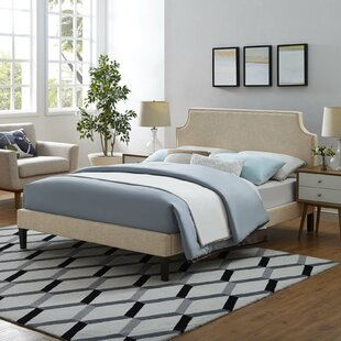 Charlton Home Kempf Upholstered Platform Bed