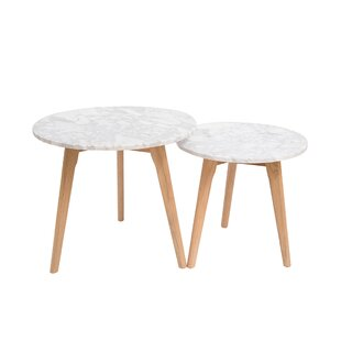 Alessandro 2 Piece Coffee Table Set By Fjørde & Co