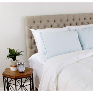 Alwyn Home Noah Cool Comfort Hybrid Foam/Gel Fiber Pillow