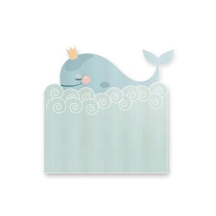 Cortese Whale Small Single Headboard By Zoomie Kids
