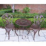 Farrior 3 Piece Bistro Set
