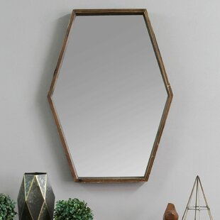 Compare Corey Wood Accent Mirror By Wrought Studio