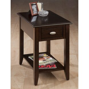 Ricky Wooden Chairside End Table by Millwood Pines