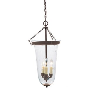 Alcott Hill Chyna 3-Light Urn Pendant