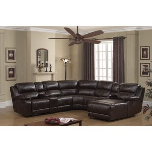 Compare Kumar Colton Reclining Sectional by Red Barrel Studio Reviews (2019) & Buyer's Guide