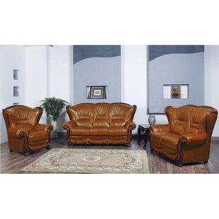 Noci Design 3 Piece Living Room Set