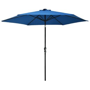 Yesenia 3m Traditional Parasol With Lights By Freeport Park
