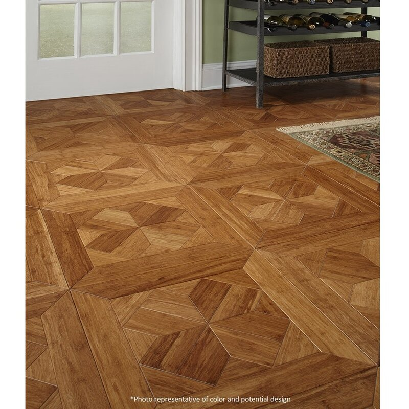 Islander Flooring 1575 Engineered Bamboo Wood Parquet Hardwood