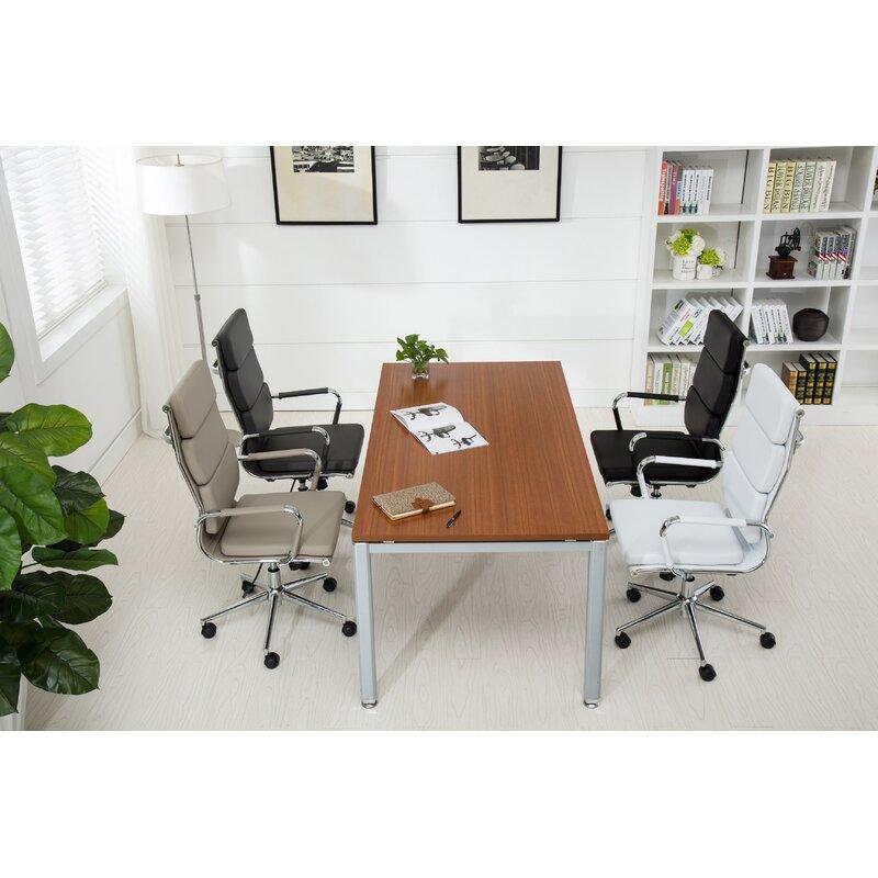 Wickham Contemporary High Back Office Desk Chair