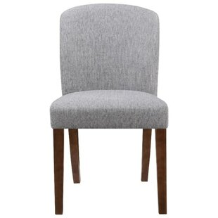 Fincher Upholstered Dining Chair (Set of 2) by Ebern Designs