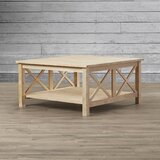 Cosgrave Solid Wood Coffee Table with Storage