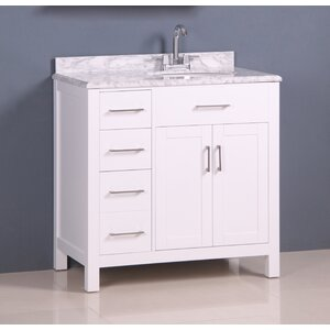 Prestwick Modern 36″ Single Bathroom Vanity Set
