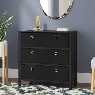 Aeliana 3 Drawers Single Dresser