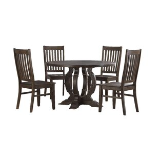 Caigan 5 Piece Dining Set Ophelia & Co.