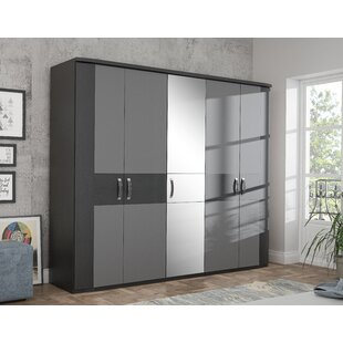 Dilsey 5 Door Wardrobe By Ebern Designs