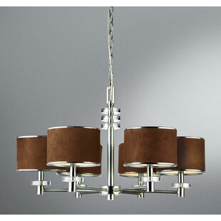 Eurofase Savvy 6-Light Shaded Chandelier