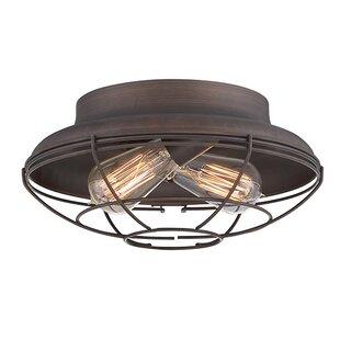 Trent Austin Design Bruges 2-Light Flush Mount