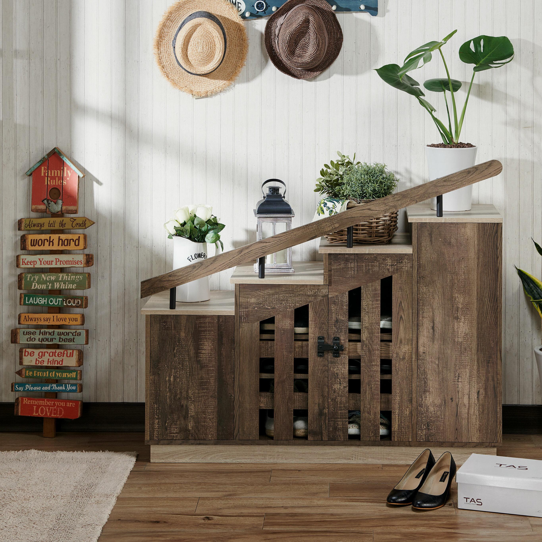 Mercury Row 12 Pair Shoe Storage Cabinet Reviews Wayfair Ca
