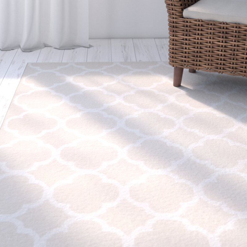 Breakwater Bay Desota Geometric Handmade Flatweave Cotton Beige Ivory Area Rug Reviews Wayfair