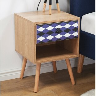 Juliann 1 Drawer Nightstand by Wrought Studio