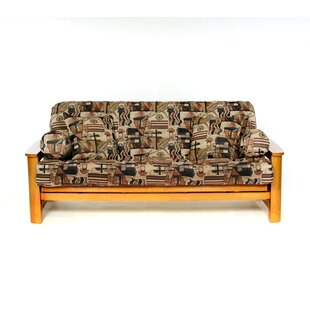 Metro Box Cushion Futon Slipcover by Lifestyle Covers