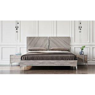 Brayden Studio Labombard Modern Platform Bed