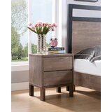 Caruthers 2 - Drawer Nightstand in Hazelnut by Foundry Select