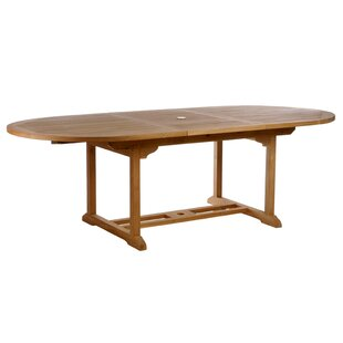 Quinlan Extendable Solid Wood Dining Table by Darby Home Co