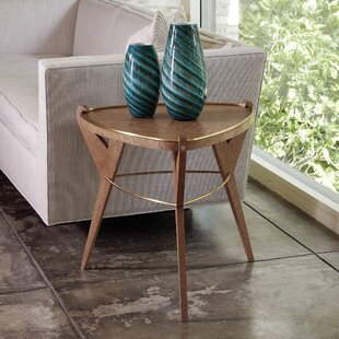 Global Views Tri-pod End Table