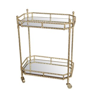 Best Choices Arrington Metal Bar Cart By Mercer41