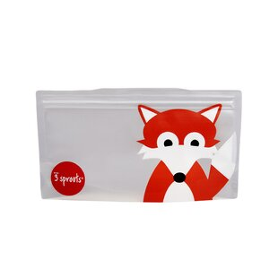 3 Sprouts Fox Snack Bag (Set of 2)