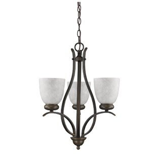Hemby 3-Light Shaded Chandelier by Bloomsbury Market