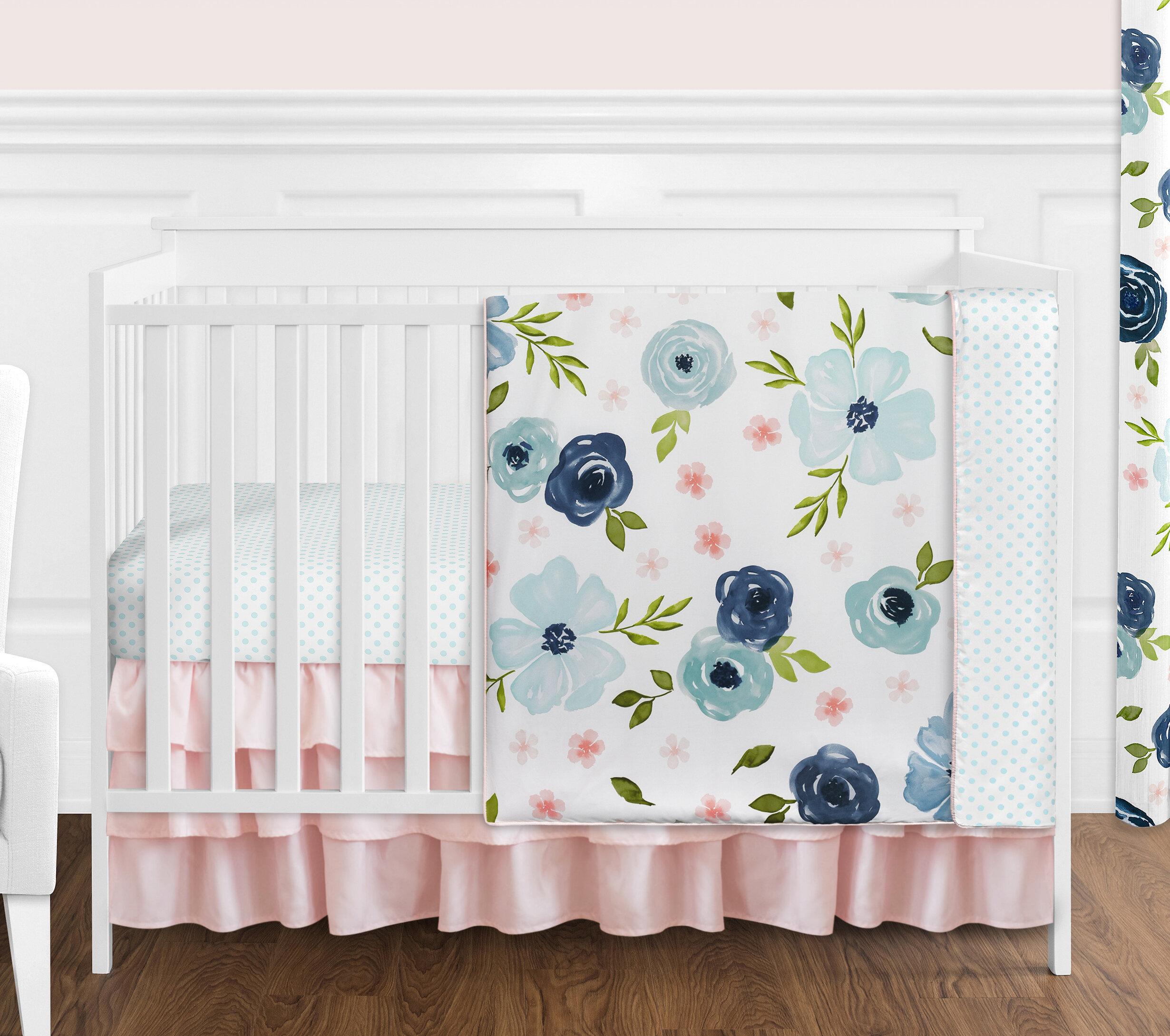 Sweet Jojo Designs 4 Piece Crib Bedding Set Reviews Wayfair