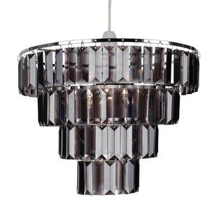 Easy fit chandelier wayfair 4 tier easy fit 30cm acrylic novelty pendant shade aloadofball Gallery