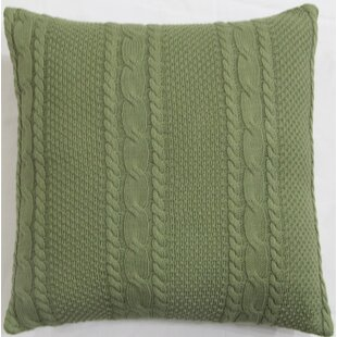 Cable Knit Pillow Cover Wayfair