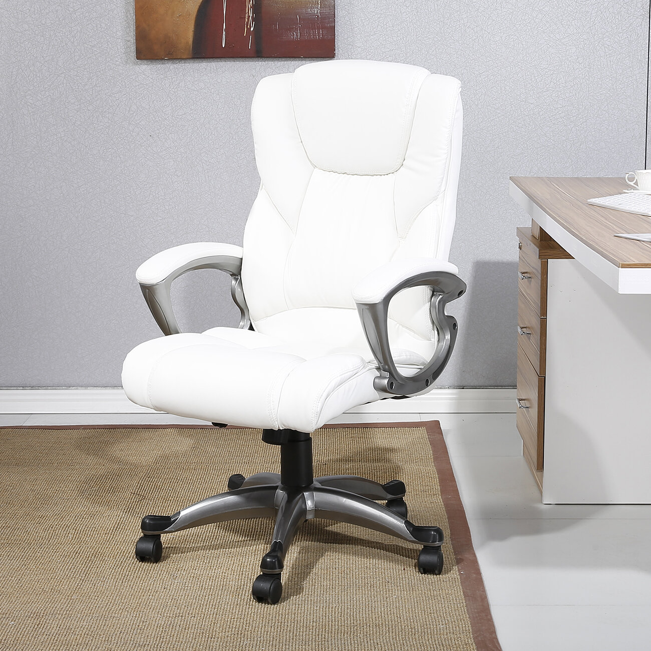Tufted White Desk Chairs You Ll Love In 2020