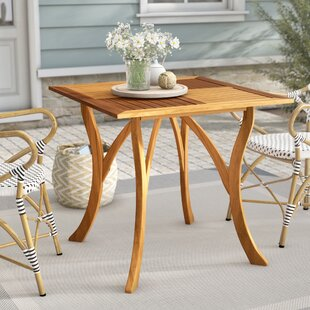 Teak Patio Furniture Youll Love Wayfair - Teak patio table with leaf