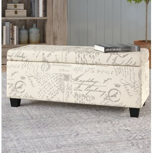 Lark Manor Lemieux Fabric Storage Bench